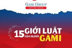 15 Giới luật - Nguyên tắc sống của người Gami